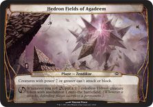 Hedron Fields of Agadeem - Planechase Planes and Phenomenons