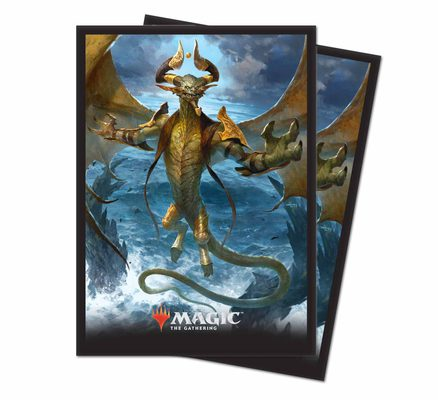 Ultra Pro MTG Core Set 2019 Deck Protector Standard Sleeves: Nicol Bolas, the Arisen (80ct)