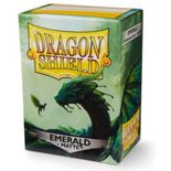 Dragon Shield Sleeves Standard Size Matte Emerald (100ct)