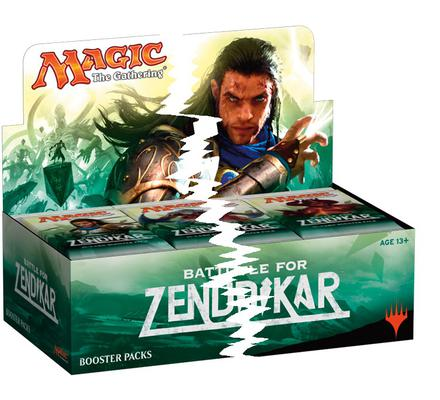 Battle for Zendikar Booster Half Box