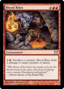 Blood Rites - Champions of Kamigawa