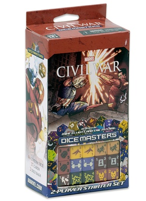 Marvel Dice Masters: Civil War Starter Set