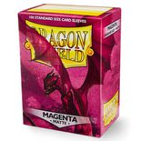 Dragon Shield Sleeves Matte Magenta (100pcs)