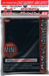 KMC Japanese Size YGO Sleeves Black (50pcs, YGO/CFV)