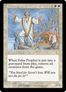 False Prophet - Urza's Destiny