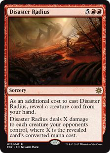 Disaster Radius - Explorers of Ixalan