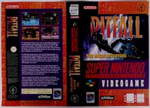 Pitfall (Original Rental Cover Paper)