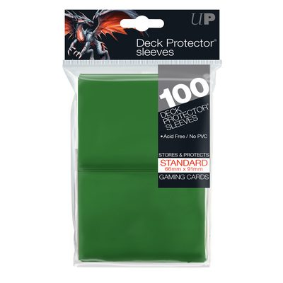 Ultra Pro Sleeves Green (100ct)