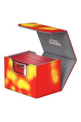 Ultimate Guard Deck Box, SideWinder ChromiaSkin 100+ Red