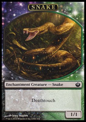 Snake TOKEN 1/1 - Journey into Nyx