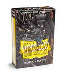 Dragon Shield Small Sleeves, Matte Black (60pcs)