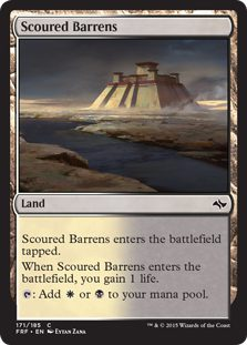 Scoured Barrens - Fate Reforged