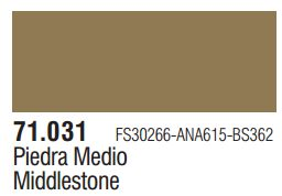 Vallejo Model Air: Middlestone 71.031