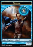 Wizard Token (Blue 2/2) - War of the Spark