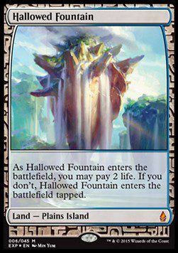Hallowed Fountain - Zendikar Expeditions