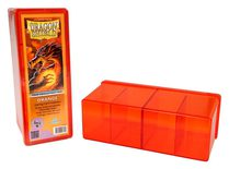 Dragon Shield Deck Box, 4 Compartment, Orange