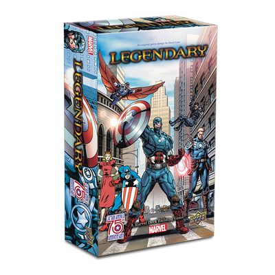 Legendary: Captain America 75th Anniversary Small Box Expansion