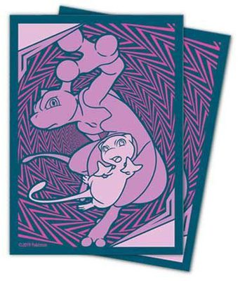Sun & Moon Unified Minds Mewtwo & Mew 65ct Sleeves