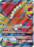 Ho-Oh GX Full Art 131/147 - Sun & Moon Burning Shadows