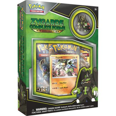 Pokemon Zygarde Complete Forme Pin Collection