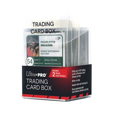 Ultra Pro Trading Card Box 100