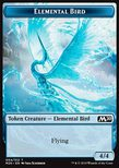 Elemental Bird TOKEN Blue 4/4 - Core 2020