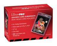 "Ultra Pro Semi Rigid 1/2"" Lip Tall Sleeves / Card Holder / Toploader (200ct)"