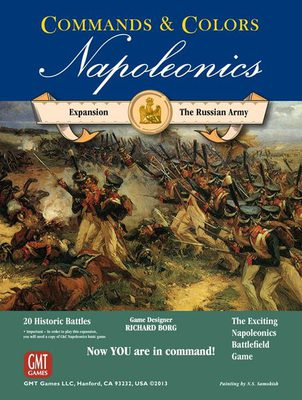 Commands & Colors Napoleonics: Expansion #2 - The Russian Army