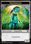 Shapeshifter 1/1 TOKEN - Commander 2015
