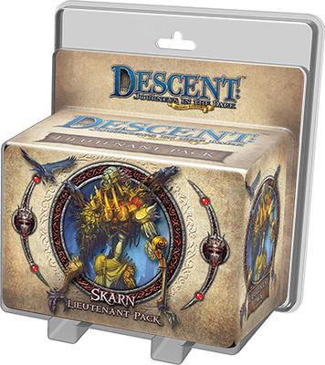 Descent (2nd Ed): Skarn Lieutenant Pack