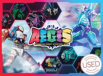 A.E.G.I.S.: Combining Robot Strategy Game *USED*