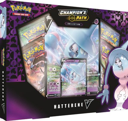 Pokemon Champion's Path Collection Hatterene V (PREORDER)