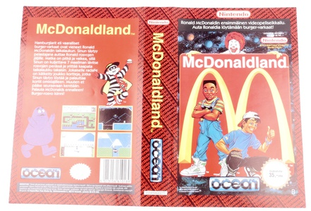 McDonaldLand (Orginal YAPON Rental Cover Paper)