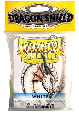 Dragon Shield Small Sleeves White (50ct)