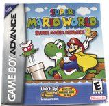 EMPTY BOX - Super Mario World: Super Mario Advance 2 (box + manual + map, no game!)
