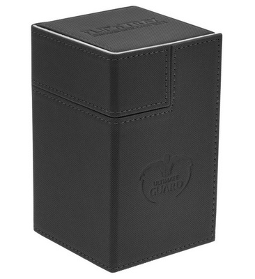 Ultimate Guard Deck Box, Flip'n'Tray Xenoskin 100+ Black