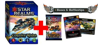 Colony Wars + Crisis - Bases & Battleship Pack