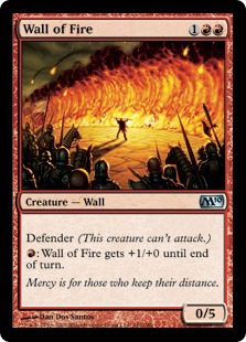 Wall of Fire - Magic 2010