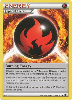 Burning Energy 151/162 - X&Y BREAKthrough