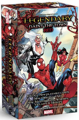 Legendary: Paint the Town Red (Spiderman) Expansion