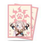 Ultra Pro Chibi Collection Ajani - Lion Hug Standard Deck Protector sleeves (100pcs)