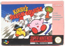 EMPTY BOX - Kirby's Dream Course (manual + box only, no game!)