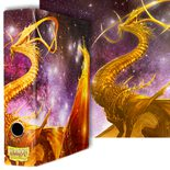Dragon Shield Slipcase Binder: Glist Gold