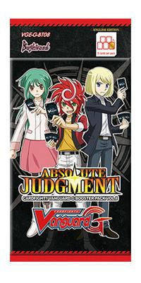 Cardfight Vanguard G Booster Pack Vol. 8: Absolute Judgment Booster