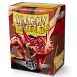 Dragon Shield Sleeves Standard Size Matte Ruby (100ct)