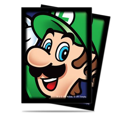 Ultra Pro Sleeves Super Mario: Luigi (65pcs)