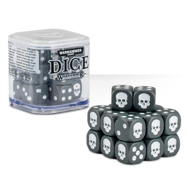 Games Workshop Dice Cube Grey