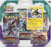 Pokemon SM2: Sun & Moon Guardians Rising 3-Pack Blister: Vikavolt