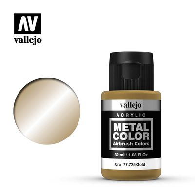 Vallejo Metal Color: Gold 77.725 32ml