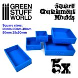 GSW Square Containment Moulds for Bases (5kpl)